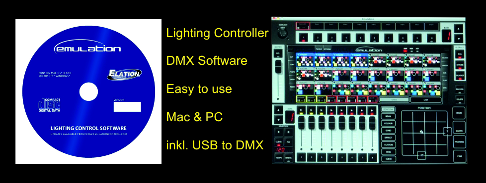 Emulation DMX Software